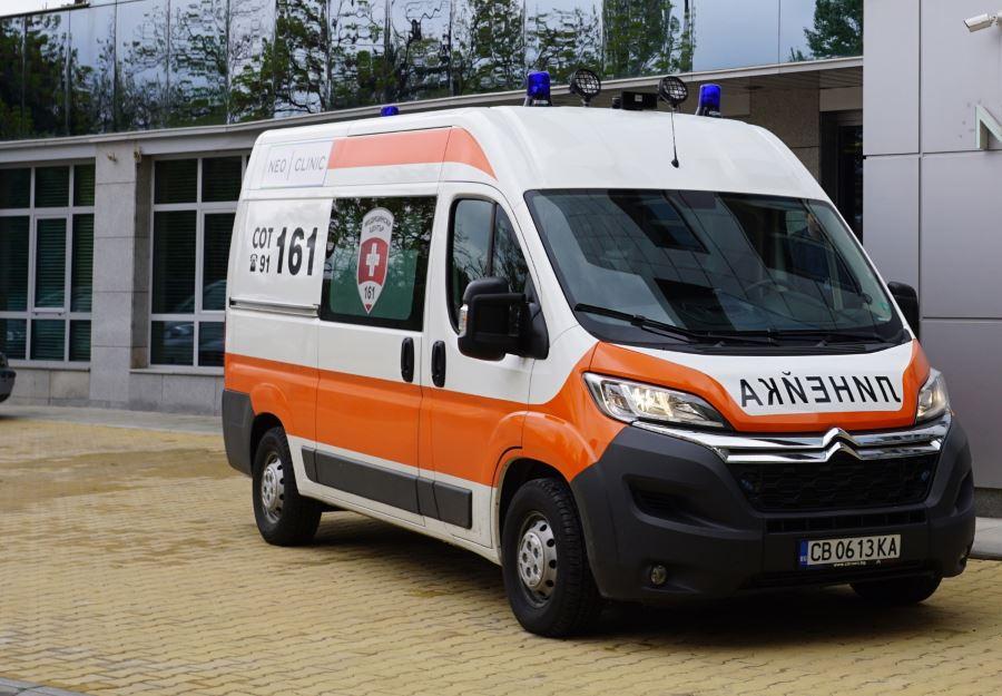 Линейката на СОТ 161 дойде за 7 минути. Може и да са били 6