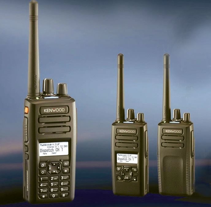 Серията NX-3000 на Kenwood – всичко в едно радио