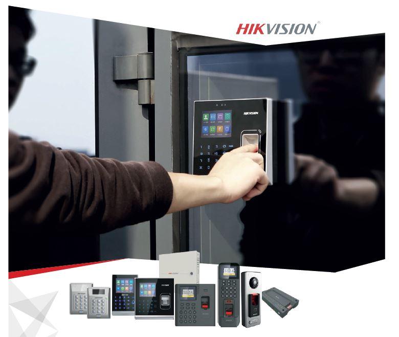Поемете пълен контрол върху системата за контрол на достъп с Hikvision Access Control