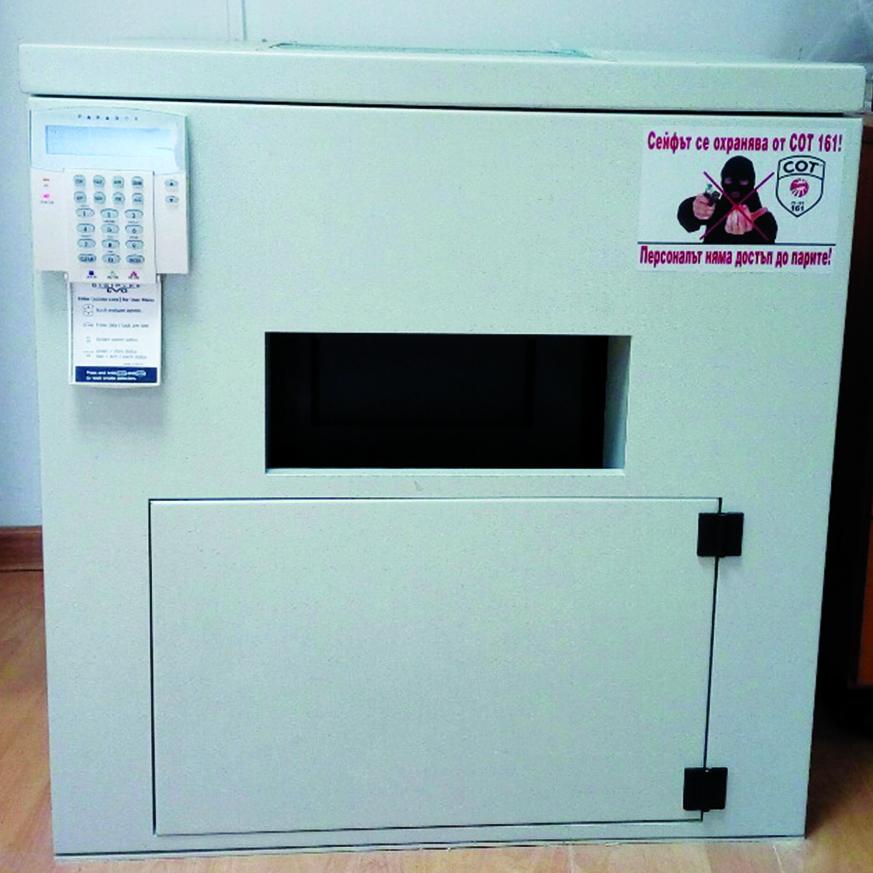 СОТ 161 депозитарен шкаф
